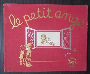 1943-LE-PETIT-ANGE-Jean-Effel-libro-illustrato-a-colori-piccolo-angelo