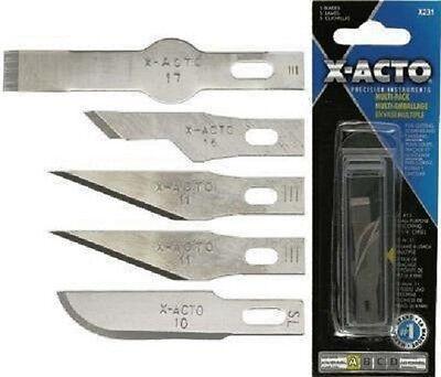 X-Acto X231 No.1 Blade Assortment x 5: XACTO Precision Instruments