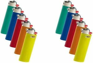 Bic Classic Full Size Lighter Maxi Full Size 5 Pack, (Set of 2) 10 Pack