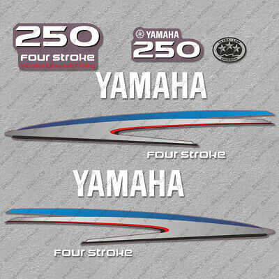 Yamaha 150HP Four Stroke Outboard Engine Decals Sticker Set reproduction 150 HP