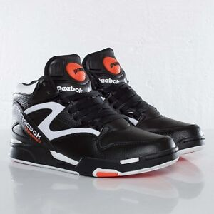 Reebok Pump Omni Lite Dee Brown Retro Black Orange White Size 9 ... c8397b3f2