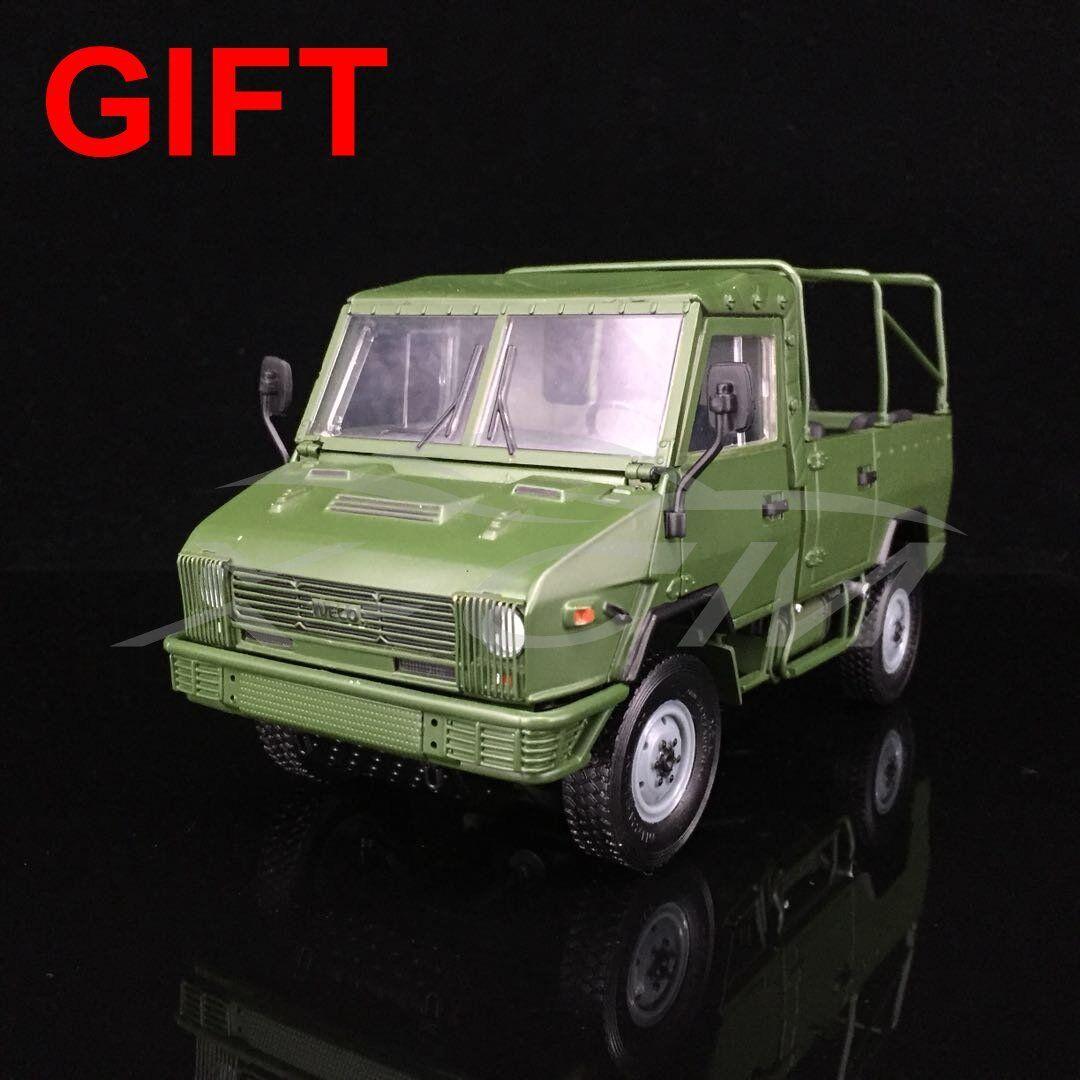 Modèle  De Voiture NAVECO militaire Voiture 1 24 (vert) + petit cadeau  livraison gratuite