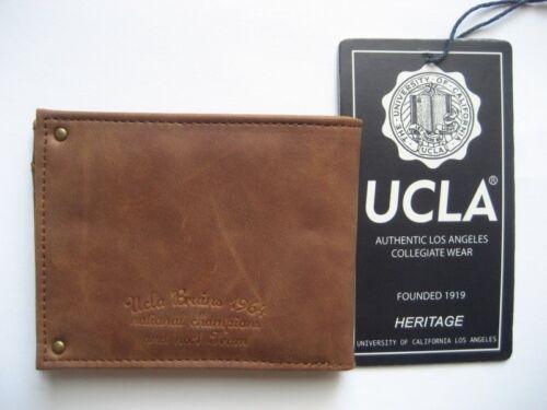 UCLA Geldbörse AUTHENTIC LOS ANGELS COLLEGIATE WEAR braun
