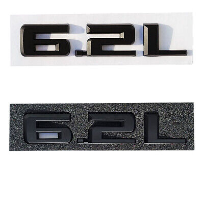 2019-2020 Chevrolet Silverado 6.2L Matte Black Emblem 84192174 GMC Sierra