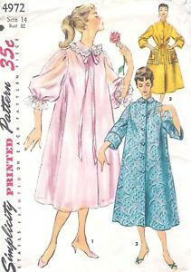 Modern Robe Sewing Pattern for Women and Men Over 1000 sold Free shipping U.S.