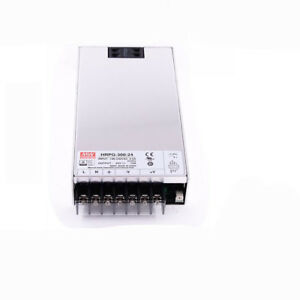Utini Mean Well Original HRPG-300-24 24V 14A meanwell HRPG-300 24V 336W Single Output with PFC Function Power Supply Brand: New
