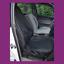 thumbnail 1 - Front Single Car Van Black Waterproof LARGE Universal Airbag Seat Covers