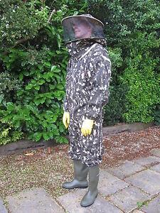 Clearance Bargain Heavy Duty, L'apiculture Chapeau Rond Costume, Camouflage.-afficher Le Titre D'origine Remises Vente