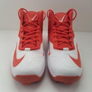 4ea9f84cbe6ee Nike Zoom Code Elite 3 4 Shark Football Cleats 603370-181 White ...