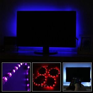 home theater led lighting. Image Is Loading LED-Lighting-Home-Theater-TV-Backlight-Kit-Strip- Home Theater Led Lighting