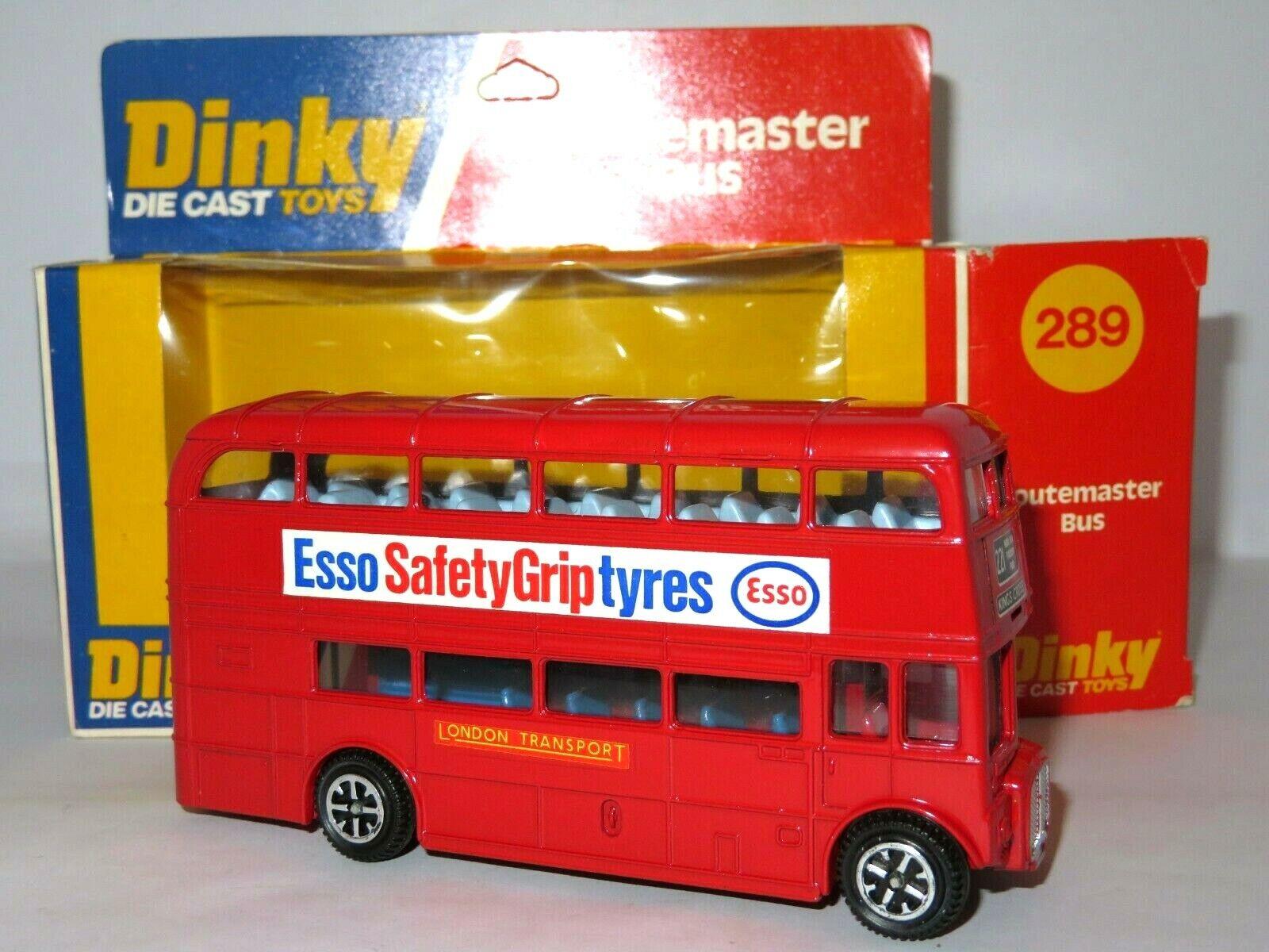 goditi il 50% di sconto DINKY 289 289 289 AEC ROUTEMASTER autobus, come nuovo modellololo nella finestra superba PANNELLO scatola. splendido.  Prezzo al piano