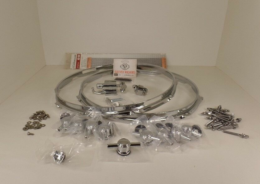 Complete Snare drum hardware package - Single Point Lugs