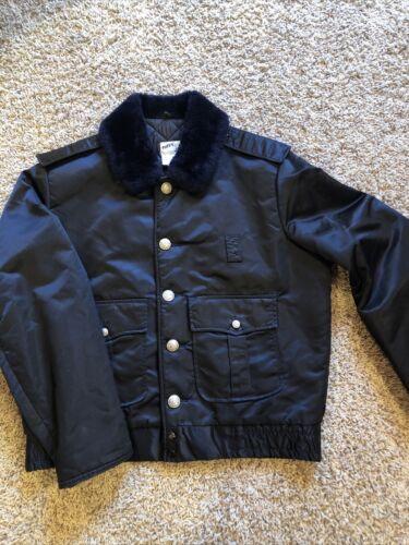 VTG Horace Small Tuffy Jac Fire Dept. Jacket Size