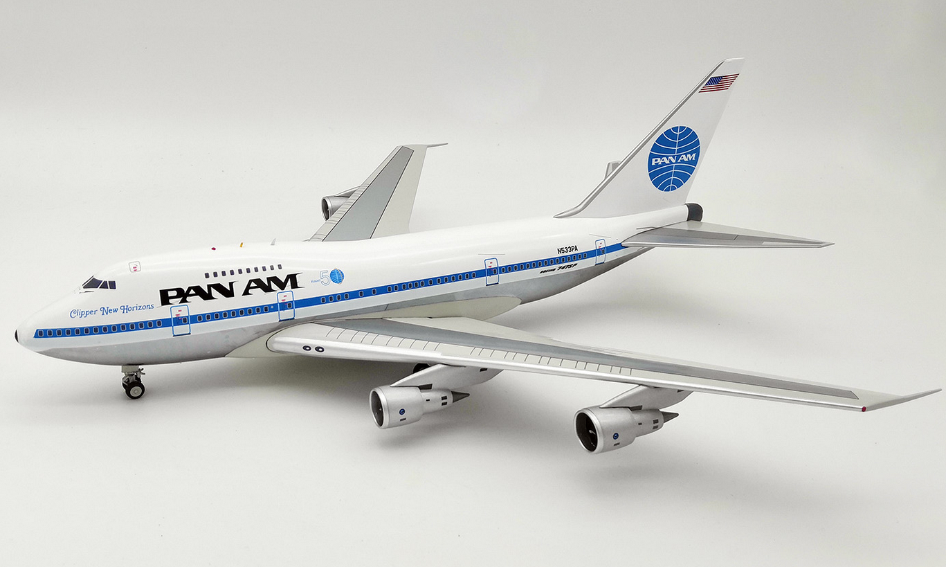 Inflight 200 IF747SPPA0119P 1 200 Pan Am B747sp N533pa Poli W   Support Ltd Edn