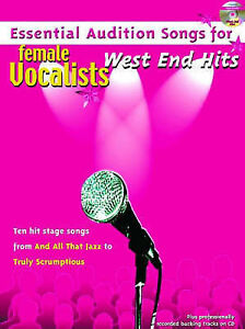 Details about Essential Audition Songs Female Vocalists West End Hits PVG  Music Book CD S30