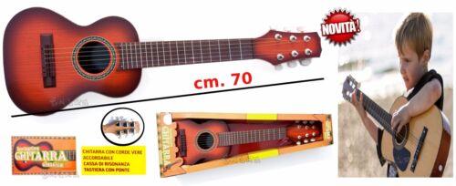 chitarra classica giocattolo bambini effett legno accordabile tastiera con ponte