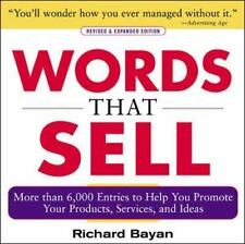 Words that Sell: More than 6000 Entries to Help You Promote Your Products, Servi
