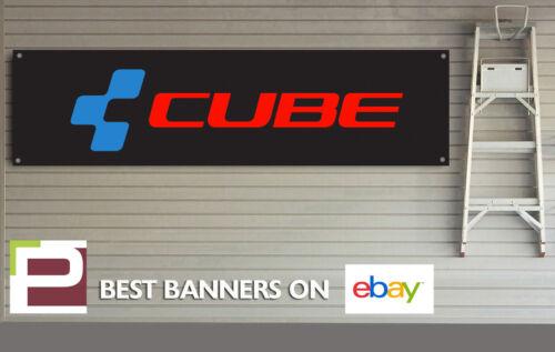 Cube Bikes Bannière pour atelier shop Banner Man Cave garage