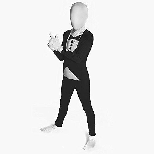 Tuxedo Kids Morphsuit Fancy Dress Costume 94cm-107 Cm Size Small 3?1-3?6