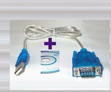 Adapter Kabel USB - Serial RS-232 DB9 / USB Typ-A - Seriell RS232 9Pin Win7/8/10