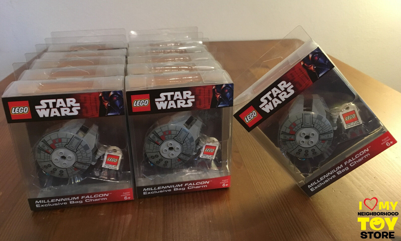 RETIROT - LEGO 852113 4520679 STAR WARS™ MILLENNIUM FALCON™ KEY CHAIN (2007)