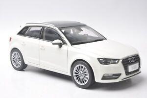 Audi-A3-sportback-car-model-in-scale-1-18-white