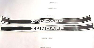 Zündapp Aufkleber Sickentank Typ 529 530 Lang 5 x 60cm GTS 50 KS CS ZD 25