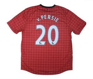 Manchester United 2012-13 ORIGINALE Maglietta V. PERSIE #20 (eccellente) XL