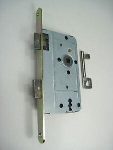 10 x Einstemmschlösser, Einsteckschlösser DIN-NORM 72mm Buntbart