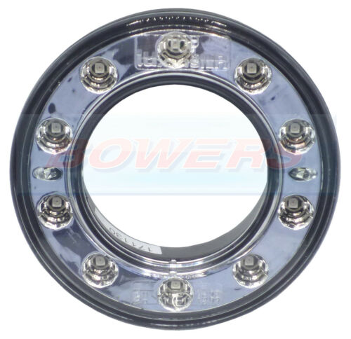 98mm ROUND LED STOP//TAIL LIGHT OUTER RING FOR 55mm COMBINABLE REAR LIGHT MORETTE