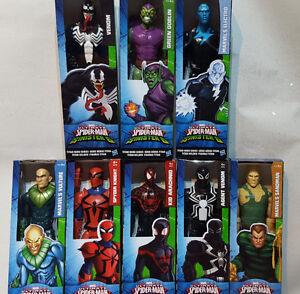MARVEL-ULTIMATE-SPIDERMAN-SINISTRE-6-TITAN-HERO-Series-12-034-Action-Figure