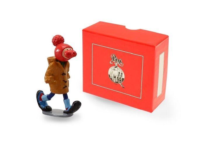 Gaston Lagaffe 6571 avec Nasenmütze Métal Mini Figurine Pixi Neuf (L)