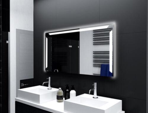 Miroir de salle avec éclairage LED salle de bain miroir salle de bains miroir miroir mural m165