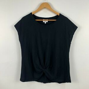 Seed-Heritage-Womens-Top-Size-XL-Black-Sleeveless