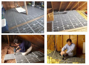 Attic Dek Attic Decking Attic Flooring Panels Installs