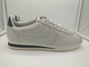 Nike Premium Uk 007 Bone 861677 Cortez Classic Leather Light Black 6 rH1Wrg4cxn