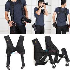 Quick Release Camera Strap Double Dual Shoulder Sling Belt f DSLR Digital Camera