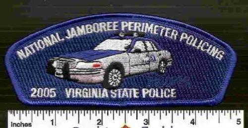2005 JSP Virginia State Trooper with Flashing Lights