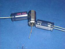 Kondensator Ø16x35mm 5x Panasonic FC 1500µF 1500uF 50V Electrolytic Capacitor