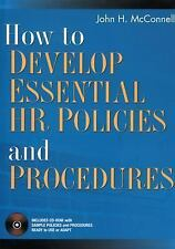 How to Develop Essential HR Policies and Procedures-ExLibrary