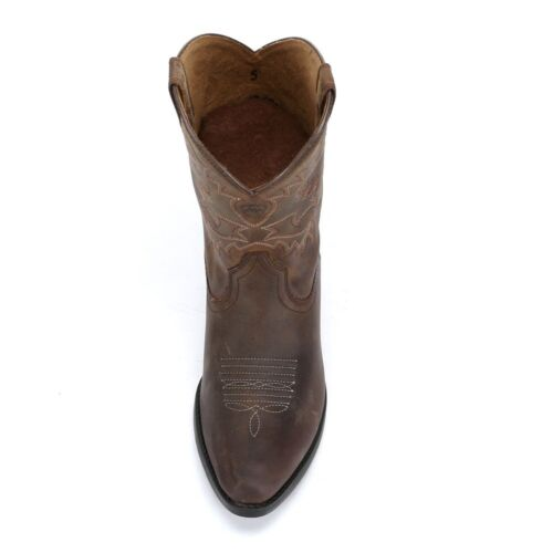 Ariat® Children/'s Heritage Western Brown Leather Boot 10001825