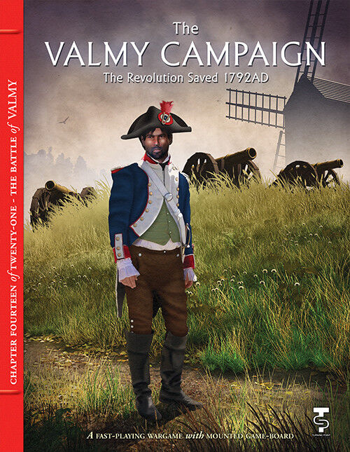 Turning Point SIMULAZIONI - TAVOLA Wargame - The Valmy CAMPAGNA 1792