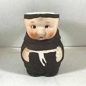 Vintage GOEBEL Franciscan Monk  Friar Tuck Creamer Porcelain