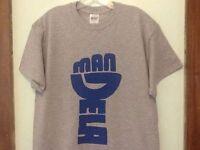Nelson Mandela T-shirt Retro Hip Hop Revolution Protest Wu Tang Che Jordan