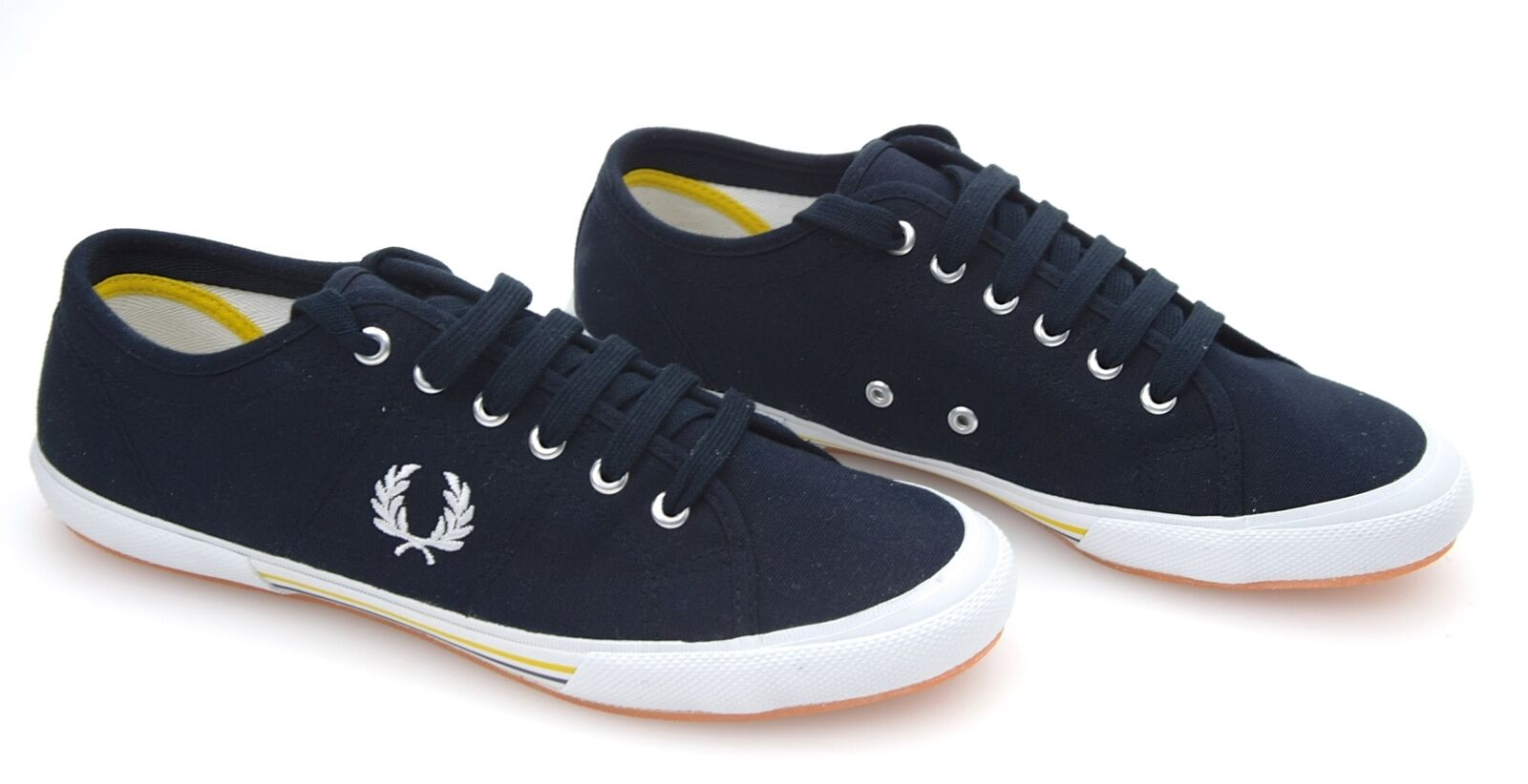 FRED PERRY MAN SNEAKER SHOES CASUAL FREE TIME CANVAS CODE B708
