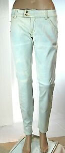 Jeans Donna Pantaloni MET Made in Italy C954 Gamba Dritta Celeste Tg 27