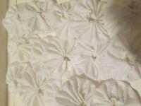 50 White Eyelet Fabric Yo Yo S