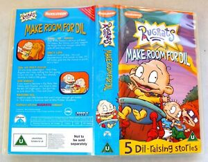 Rugrats-Make-room-for-Dil-Vhs-Tape-amp-Case-Cert-Uc-Collectable-VHS
