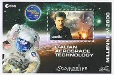 ITALIAN AEROSPACE TECHNOLOGY MILLENIUM 2000 SOMALIA MNH STAMP SHEETLET