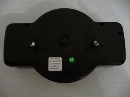 Humbaur Rückleuchten Set 2 Stück mit 10 m Kabel und 13 Poligen SteckerNeu 0991.1